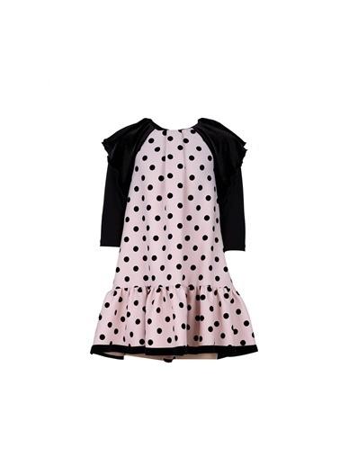 Lia Lea Kız Çocuk Siyah Elbise 20Fwll01669 Siyah
